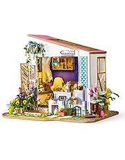 Rolife 3D casa de muñecas de Madera con luz café Miniatura DIY Modelo Kit-Tops Juguetes para niños 14 15 16 17 años de Edad hasta-Mejores Regalos para Adultos
