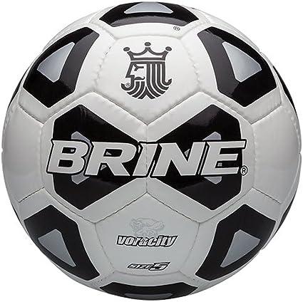 Brine Voracity - Balón de fútbol, Color Negro, tamaño 5: Amazon.es ...