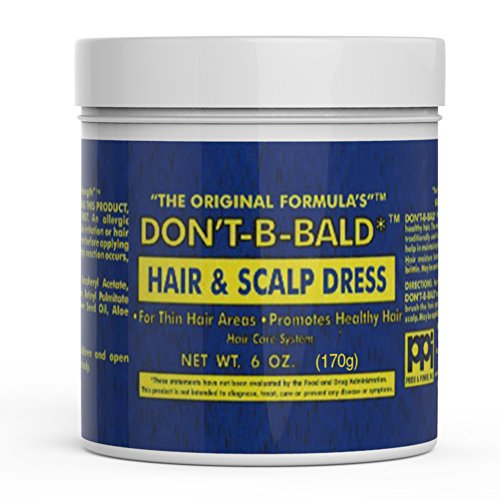 Moisturizing Pomade (Dont Be Bald Hair & Scalp Dress Moisturizing Pomade 6 Ounce)
