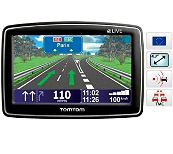 TOMTOM GPS XL Live IQ Routes Europe 42 + 27 cm: Amazon.co.uk