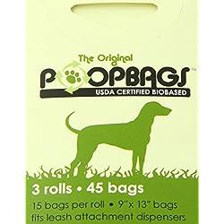 PoopBags Dog Waste Bags, 3-Pack
