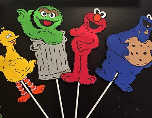 - Sesame Street Centerpiece Sticks