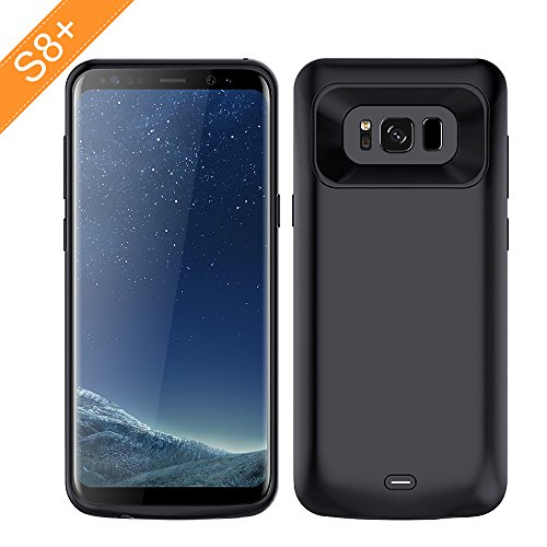 Click to buy Modernway Galaxy S8 Plus Battery Case, 5500 mAh Rechargeable Portable Battery Case Power Bank Charging Case for Samsung Galaxy S8 Plus-Black - From only $36.99