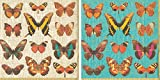 #9: Entertaining with Caspari Paper Cocktail Napkins, Pack of 40 … (Deyrolle Butterflies)