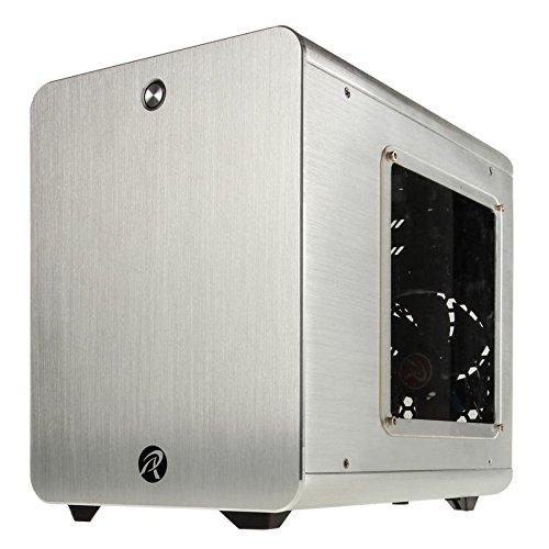 最上の品質な RAIJINTEK METISシリーズ キューブ型アルミニウム製Mini-ITXケース 0R200006 (METIS (METIS BLACK) B00O3IX6TC シルバー BLACK) シルバー シルバー, ROERMOND(ルールモント):b20e26a6 --- ballyshannonshow.com