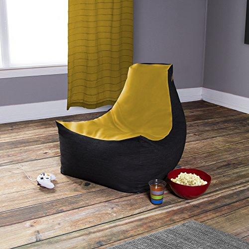 Yellow Vinyl Bean Bag - 9