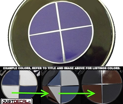 Vinyl Overlays- Purple Fits Bmw ()