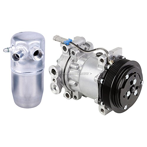 Gmc K3500 A/c Compressor (Premium Quality New AC Compressor & Clutch With A/C Drier For Chevy And GMC - BuyAutoParts 60-86088R2 New)