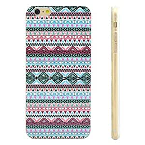 SHOUJIKE Stripe Pattern Protective TPU Soft Case for iPhone 6 Plus