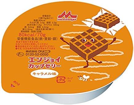クリニコ エンジョイカップゼリー (栄養補助食品) キャラメル味 24個入