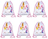 Large Size Unicorn Drawstring Bag, Unicorn Party Favor Bag, Overnight Bag (6) Review