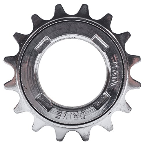 Single Speed Sprocket - State Bicycle Freewheel/Single Speed Coasting Cog, Silver, 16T