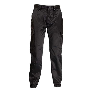 Pantalón de protección civil ADS negro 34 : Amazon.es: Ropa ...