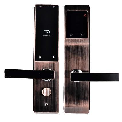 Amazon com: Smart Door Locks, Security Door Face Recognition Lock