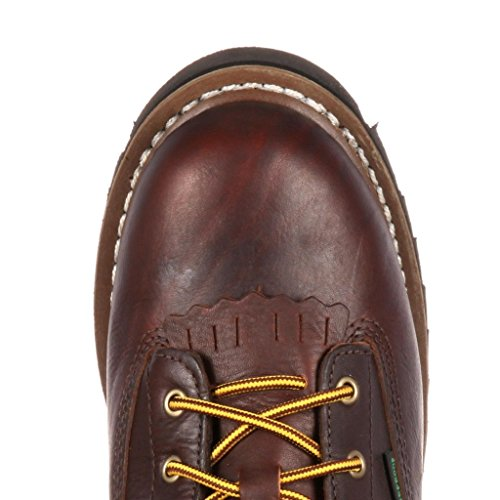 Georgia Men's to Boot Boot Chocolate Toe Lace Work 8