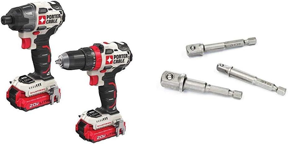 Porter-Cable 20V Max cordless drill combo kit