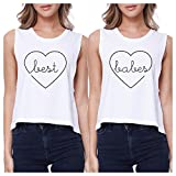 Best 365 Printing Friend Matching Gifts - 365 Printing Best Babes White BFF Matching Crop Review
