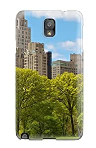 AIYAYA Galaxy Note 3 Hybrid Tpu Case Cover Silicon Bumper Central Park New York