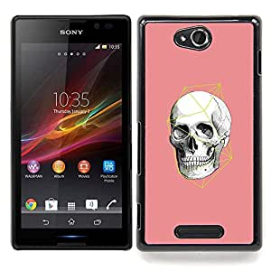 "Planetar ( Pintura colorida Art México"" ) Sony Xperia C Fundas Cover Cubre Hard Case Cover"