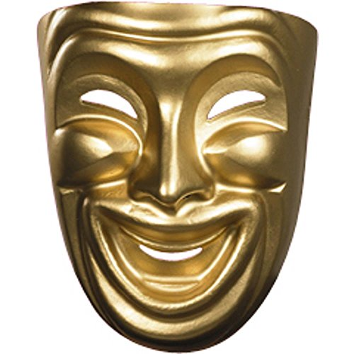 Comedy and Tragedy Masks Costume -