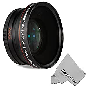 Altura Photo 72MM 0.43x Wide Angle Lens with Macro Portion, Sigma Lenses for Canon