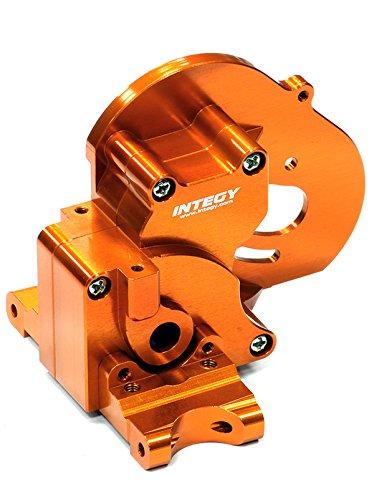 Integy RC Model Hop-ups T7983ORANGE Alloy Gear Box for Traxxas 1/10 Stampede 2WD, Rustler & Bandit XL5