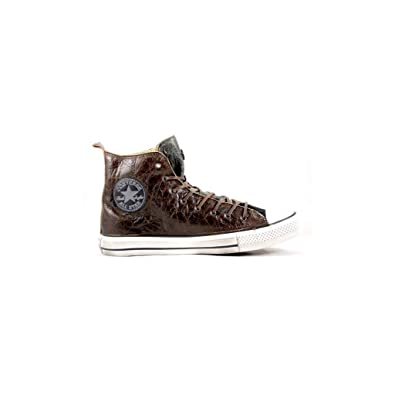 2converse all star sneakers pelle