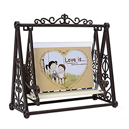 Amazon.com: NEW Creative Vintage LOVE Swing Couple Decoration frame ...