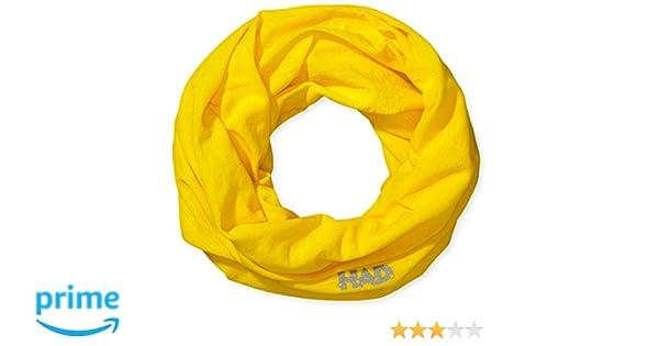 HA100-0033 Talla /única Neon Sun UF Amarillo Solar ne/ón HAD Pa/ñuelo Head Accessoires Solid Colours