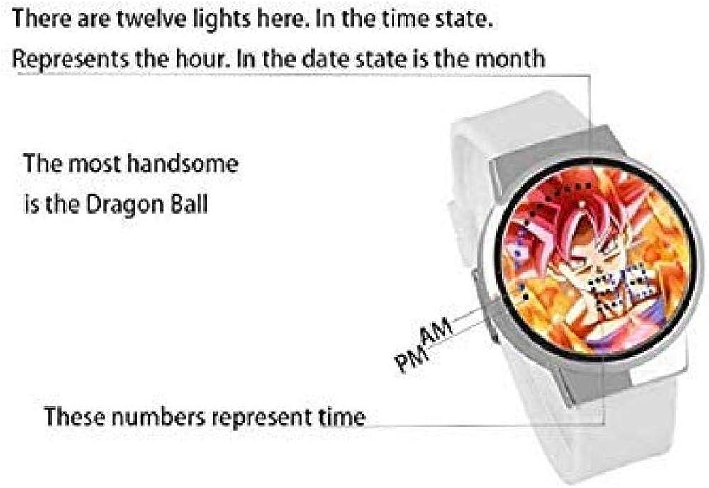 Orologi da polso Orologio Elettronico Da Studente A Led Orologio Da Tocco Impermeabile Periferico Da Gioco Pubg (C)