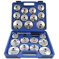 Merry Tools HK Filtro Aceite Aleación Aluminio 23