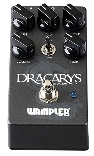 Wampler Hot Wired V2 Brent Mason Signature Distortion & Overdrive Guitar Effects Pedal