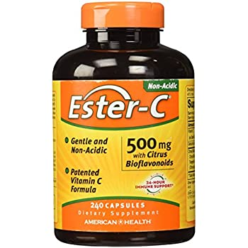 American Health Ester-C with Citrus Bioflavonoids, 500 mg, 240 Count