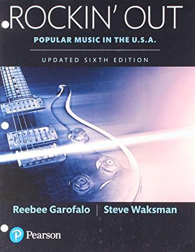 Rockin' Out: Popular Music in the U.S.A, Updated Edition -- Books a la Carte (6th Edition)