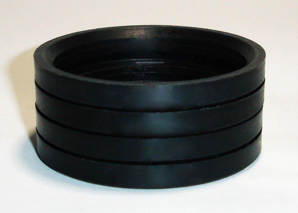4 Centring Rings Spacers for Alloy Wheels 72.0-60.1 mm  Mak Matrix TSW Zen Aluminium Wheels