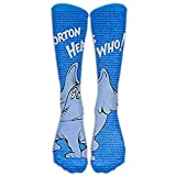 Horton Hears A Who Knee High Graduated Compression Socks For Women And Men - Best Medical, Nursing, Travel & Flight Socks - Running & Fitness
