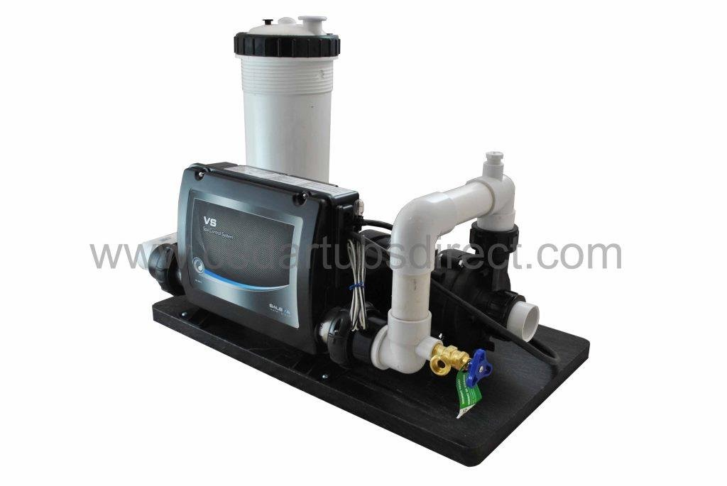 Balboa Spa System - 1 HP Pump, 1.5 Kw Heater,50 sqft