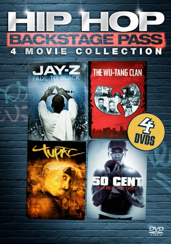 Hip Hop Backstage Pass: Four-Movie Collection (Jay-Z: Fade to Black / Wu Tang Clan: Wu / Tupac: Resurrection /  50 Cent: Get Rich or Die Tryin')