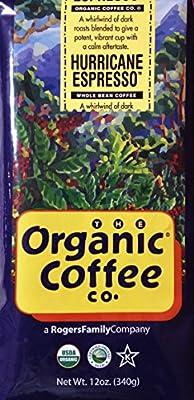 The Organic Coffee Company, Hurricane Espresso - 12 oz. Whole Bean