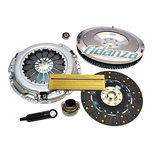 EFT HD CLUTCH KIT & FIDANZA ALUMINUM FLYWHEEL 2002-2005 LEXUS IS300 3.0L 2JZ-GE