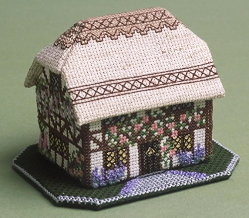 Foxglove Cottage (Foxglove Cottage 3D Cross Stitch Kit)