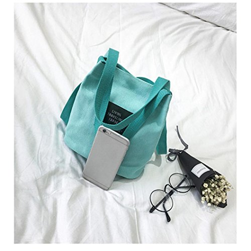 Bag Available Bag Different DRESS Women'S Color Shoulder Convenient Simple And Options Tote Canvas Blue Tote tvXwqO