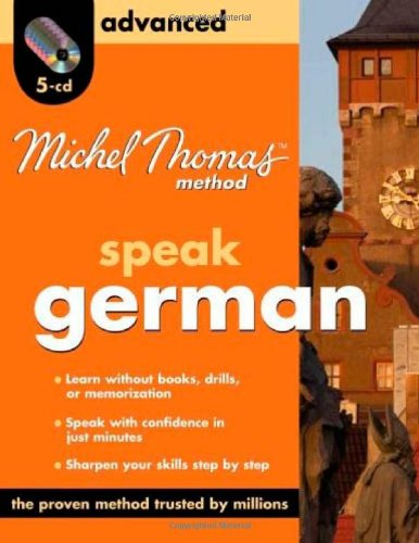 Michel Thomas Method German Advanced, 5-CD Program (Michel Thomas Series) by McGraw-Hill