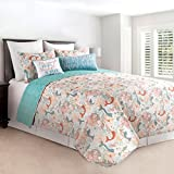 Dancing Waters Twin 2 Piece Quilt Set For Sale