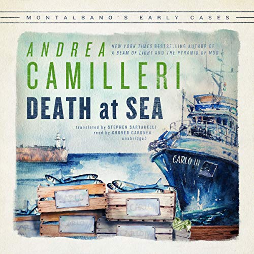 Death at Sea: The Inspector Montalbano Mysteries by Blackstone Audio, Inc.