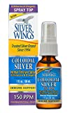 Natural Path Silver Wings Colloidal Silver Herbal Tincture Spray, 1...