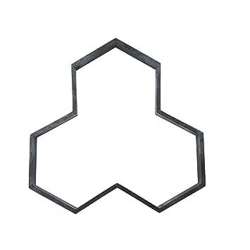 yangGradel - Molde de plástico para hormigón, diseño de ladrillo, A: Amazon.es: Hogar