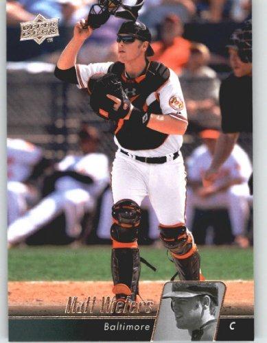 Upper Deck Bb (2010 Upper Deck Baseball Card # 84 Matt Wieters - Baltimore Orioles - MLB Trading Card Shipped In Protective Screwdown Display Case!)