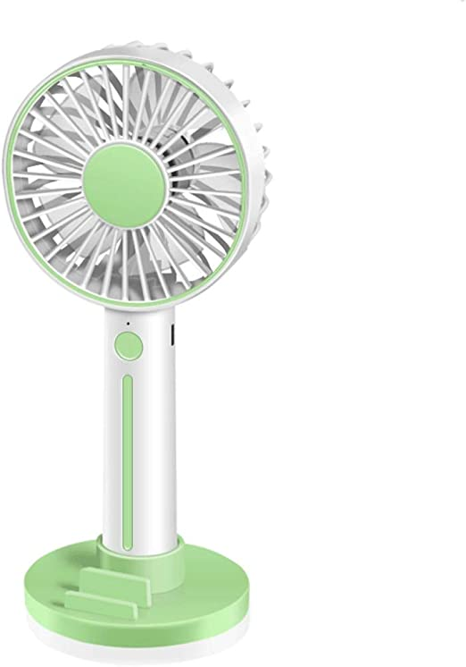 Anywhere@Green Portable Mini Fanhandheld Small Fan Portable Charging USB Small Fan to Cool Down Anytime