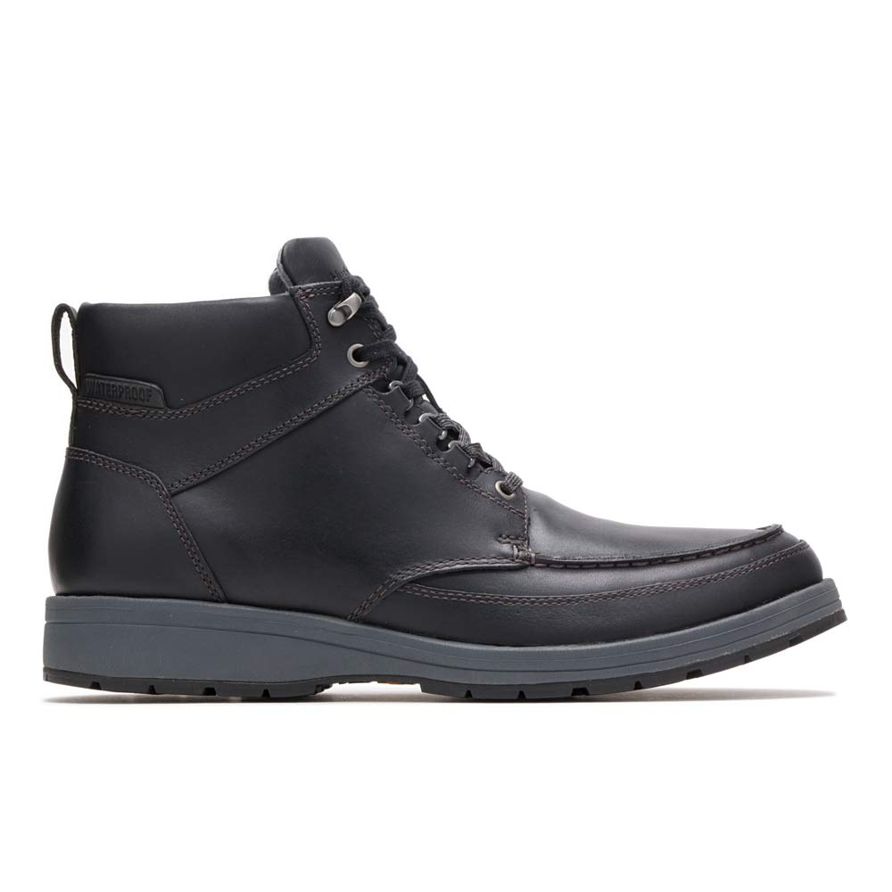 Hush Puppies Men's Beauceron Tall ICE+ Oxford Boot, Black wp Leather, 11 M US by Hush Puppies